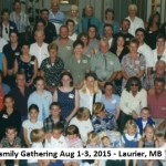 Antoine Family Tree Gathering in Laurier MB Aug 1-3, 2015
