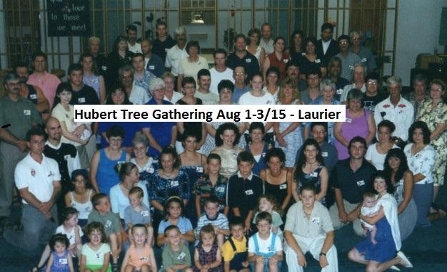 Hubert Family Tree - Reunion Summer 2000